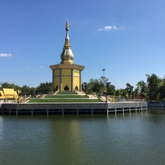 Photo taken at วัดป่ากุง (วัดประชาคมวนาราม) by Molly R. on 11/26/2015