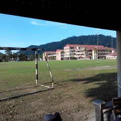 Photo taken at MRSM Kuantan by Nor Atiqah M. on 3/30/2014
