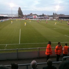 Photo taken at The London Borough of Barking & Dagenham Stadium by Adam H. on 8/12/2014