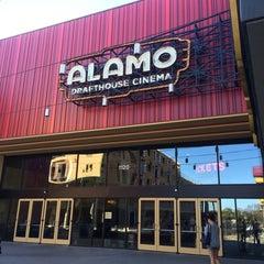 Photo taken at Alamo Drafthouse Cinema by Tina R. on 3/29/2015