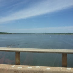 Photo taken at Mile Long Bridge by Chelsey F. on 5/23/2014