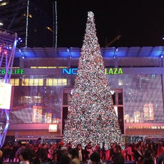 Photo taken at LA Live by Yo H. on 12/25/2012