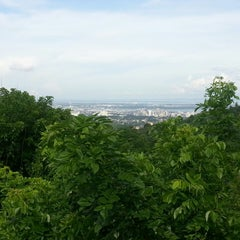 Photo taken at Lanipao Rainforest Mountain Resort (Napo Sapangdaku Guadalupe Cebu City) by Allain D. on 7/13/2013