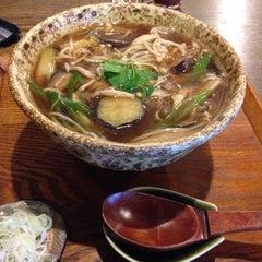 Photo taken at 手打そば くりはら by とんそくマーチ on 8/6/2014