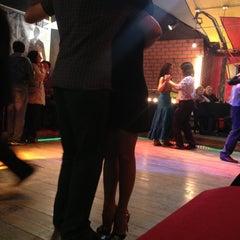 Photo taken at Cachafaz Tango Bar by Sergio R. on 10/25/2012