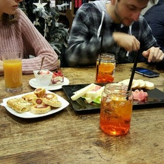 Photo taken at Caffè Mastai by Olga A. on 1/3/2016