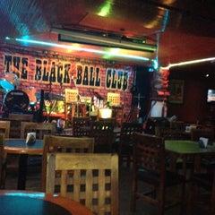 Photo taken at The Black Ball Club by Arturo M. on 4/8/2014