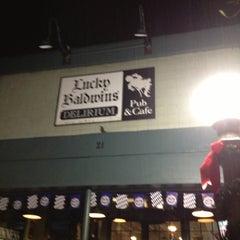 Photo taken at Lucky Baldwins Delirium Pub Cafe by Paul J. on 11/18/2012