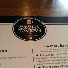 Photo taken at Ozona Tavern by Captain Howard L. on 1/19/2014