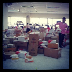 Photo taken at ไปรษณีย์ ขอนแก่น (Khon Kaen Post Office) by Phanuwat W. on 4/9/2013