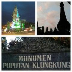 Photo taken at Monumen Puputan Klungkung by Komang S. on 2/2/2014
