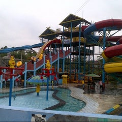 Photo taken at Labersa Water Park by -Ayong C. on 1/12/2014