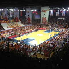 Photo taken at Abdi İpekçi Arena by Berhan A. on 6/15/2013