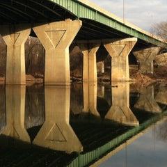 Photo taken at American Legion Memorial Bridge by Dan D. on 1/6/2013
