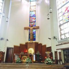 Photo taken at St.Jude Parish Church by Kath S. on 4/26/2015
