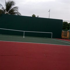 Photo taken at Court Tenis MPHTJ by Mohd M. on 1/13/2014