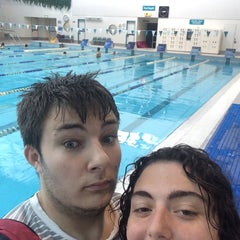 Photo taken at Sydney Olympic Park Aquatic Centre by Dion D. on 8/23/2014