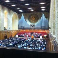 Photo taken at Winthrop Hall by Kate O. on 3/19/2013