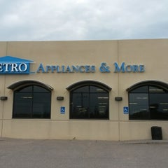 Photo taken at Metro Appliances & More by Cindy K. on 5/8/2014