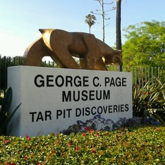 Photo taken at La Brea Tar Pits by Kim J. on 5/26/2013