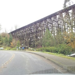 Photo taken at Mercer Slough North Bridge by Th_Aviator on 11/22/2012