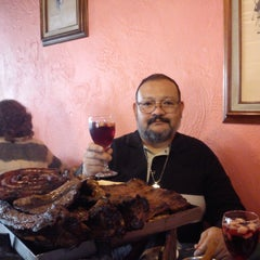 Photo taken at La Parrilla Argentina by Haru N. on 11/15/2014