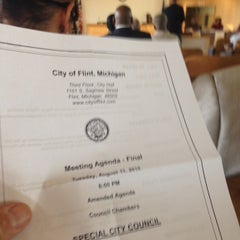 Photo taken at Flint City Hall by Terry B. on 8/11/2015