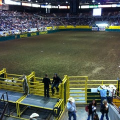Photo taken at Snake River Stampede by Heather L. on 7/22/2012