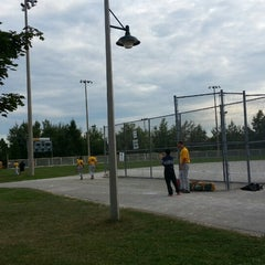 Photo taken at Richmond Green Sports Centre & Park by Mitch F. on 8/29/2014