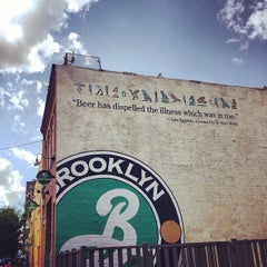Photo taken at Brooklyn Brewery by Anabel M. on 6/15/2013