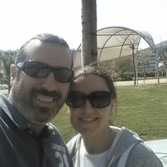 Photo taken at Parque de la Alegría by Joaquin P. on 4/5/2015