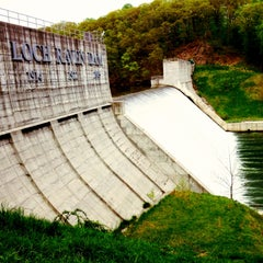 Photo taken at Loch Raven Dam by Laun R. on 4/30/2013