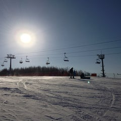 Photo taken at 알펜시아 리조트 스키장 / Alpensia Resort Ski Area by Alanis K. on 2/21/2013
