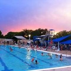 Photo taken at University Park Pool by Jennifer P. on 6/11/2014