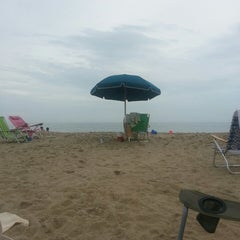 Photo taken at 145th St Beach by Tara C. on 8/10/2013