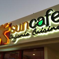 Photo taken at SunCafe Organic by David K. on 10/1/2012