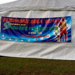 Photo taken at Stadium Mini Shah Alam by Saiful M. on 4/10/2015
