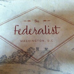 Photo taken at The Federalist by Catie C. on 12/16/2012
