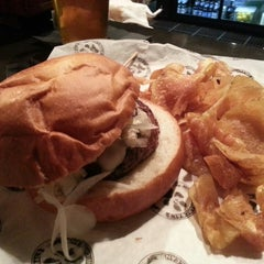 Photo taken at Charcoal's Gourmet Burger Bar by Westley B. on 3/6/2013