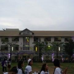 Photo taken at โรงเรียนมัธยมสาธิต มหาวิทยาลัยราชภัฏบ้านสมเด็จเจ้าพระยา (The Secondary Demonstration school of Bansomdejchaopraya Rajabhat University) by STtie_MP' P. on 1/10/2015