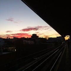 Photo taken at MTA Subway - Astoria Blvd/Hoyt Ave (N/Q) by Christian M. on 1/19/2013