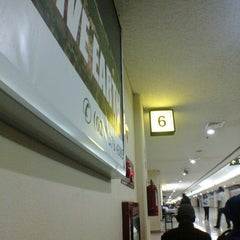 Photo taken at Gate 6 by Rana K. on 1/24/2014