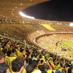 Photo taken at Estádio Jornalista Mário Filho (Maracanã) by PK on 6/30/2013