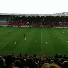 Photo taken at Ashton Gate Stadium by Can Y. on 8/12/2014