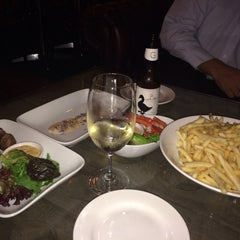 Photo taken at Union Bank Wine Bar & Wine Store by Oxwife on 3/4/2014