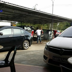 Photo taken at Cyber CT Carwash & Cafe by Frederick J. on 3/7/2014