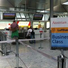 Photo taken at Blue Danube Airport Linz (LNZ) by Alexander H. on 7/15/2013