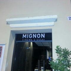Photo taken at Mignon Cinema d'Essai by Alessandro M. on 10/29/2012