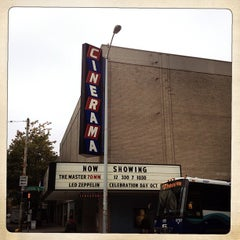 Photo taken at Cinerama by Nikin N. on 10/11/2012