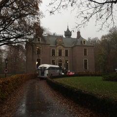 Photo taken at Kasteel Oud Poelgeest by Stefano F. on 11/30/2014